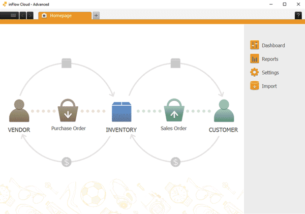 inFlow inventory management software