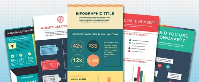 How To Create Infographics In Under An Hour 15 Free Infographic Templates