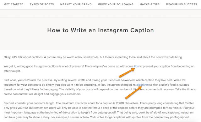instagram caption pillar page.png