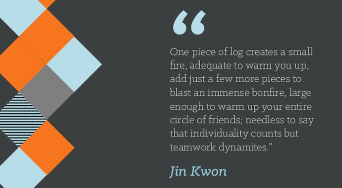 Quote by Jin Kwon