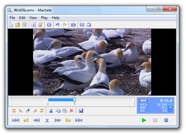 machete video editing app