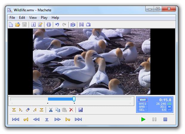 machete video editing app