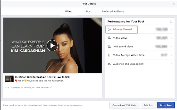 minutes viewed.png  How to Understand Facebook Insights for Social Video minutes 20viewed