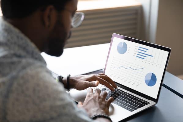 sales leader reviews targets