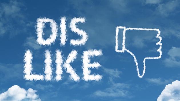 no facebook dislike button