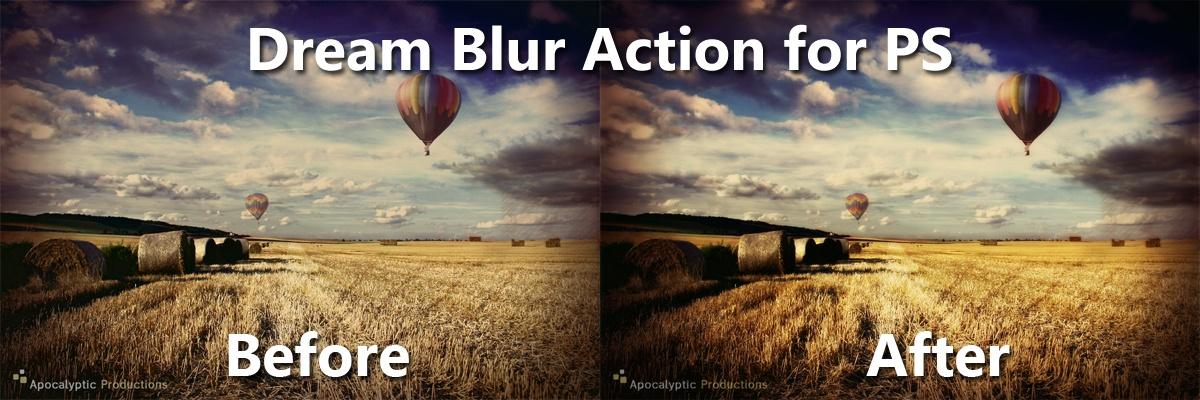 Dream Blur, a Photoshop filter action