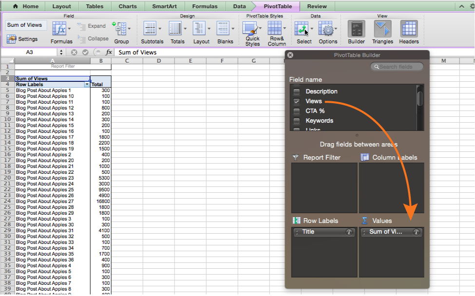 use of pivot table in excel pdf free