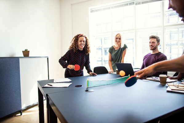 Why Playing Games at Work Could Increase Productivity and Employee Satisfaction
