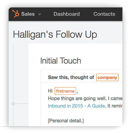 Getting Started With 1:1 Sales Nurturing Using Sequences