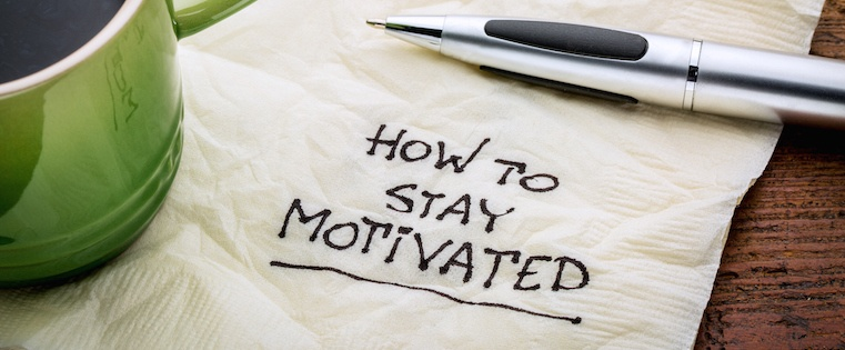 7 Handy Tips to Stay Motivated at Work [Infographic]