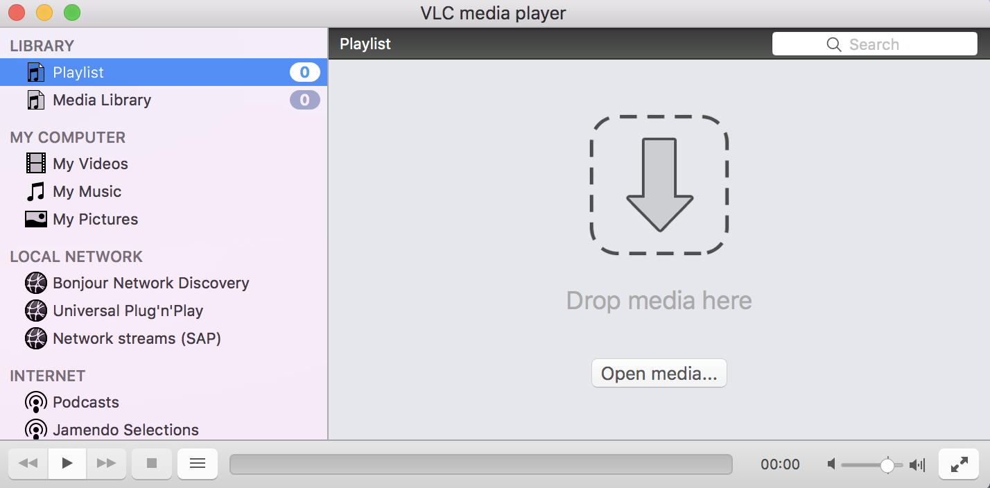 Space to open YouTube video in VLC media player