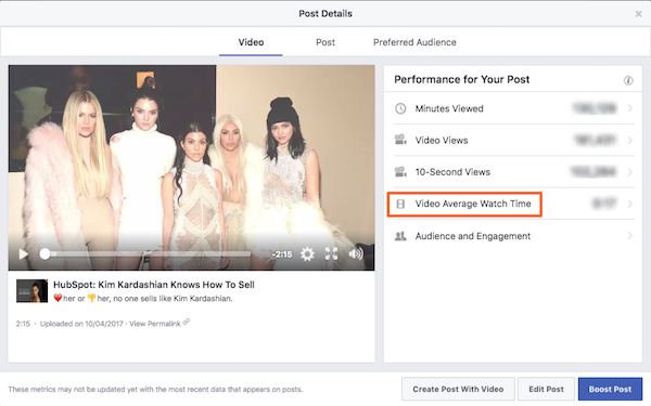 video avg watch time.png  How to Understand Facebook Insights for Social Video video 20avg 20watch 20time