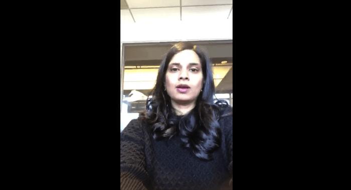 vijaya gadde on twitter health study