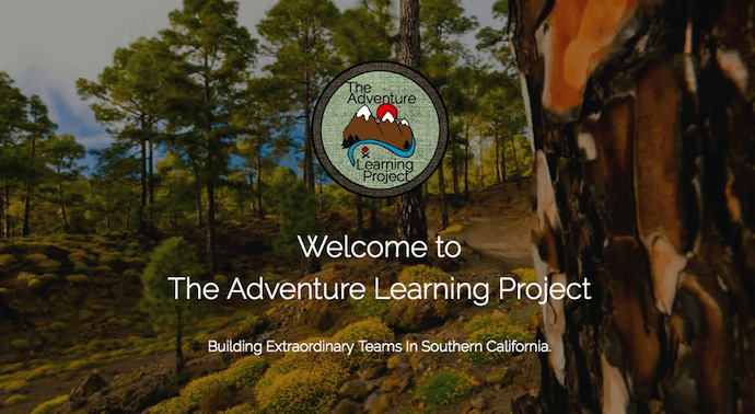 Website by The Adventure Learning Project built with Strikingly