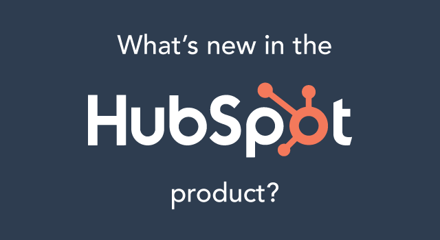 Banner reading: What's new in the HubSpot product?