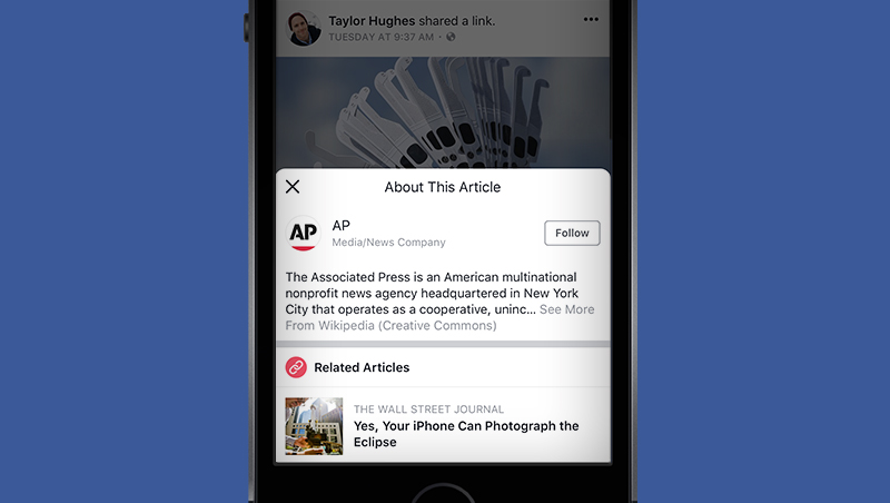 What Would a Facebook News Tab Look Like?