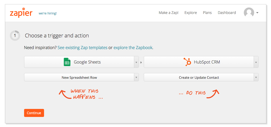 Keep the Contacts in Your CRM Up-to-Date with Zapier